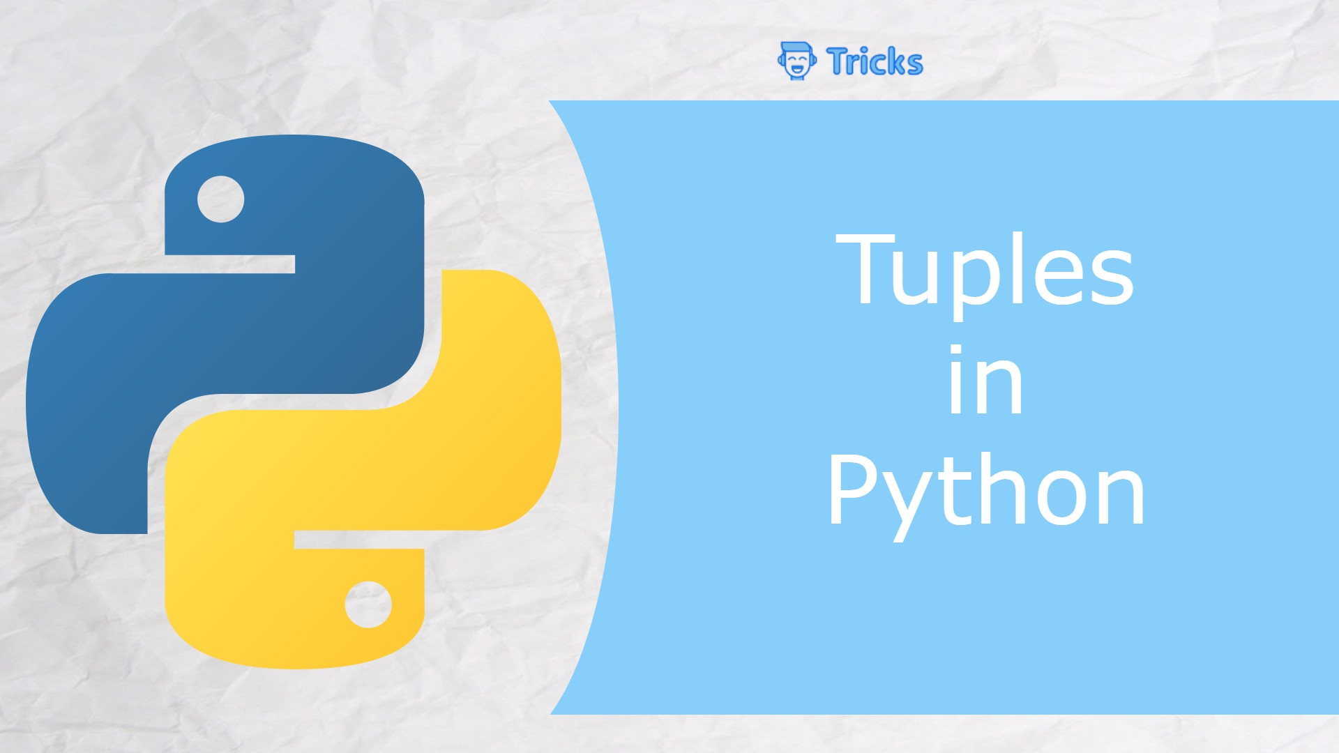 What are tuples in python