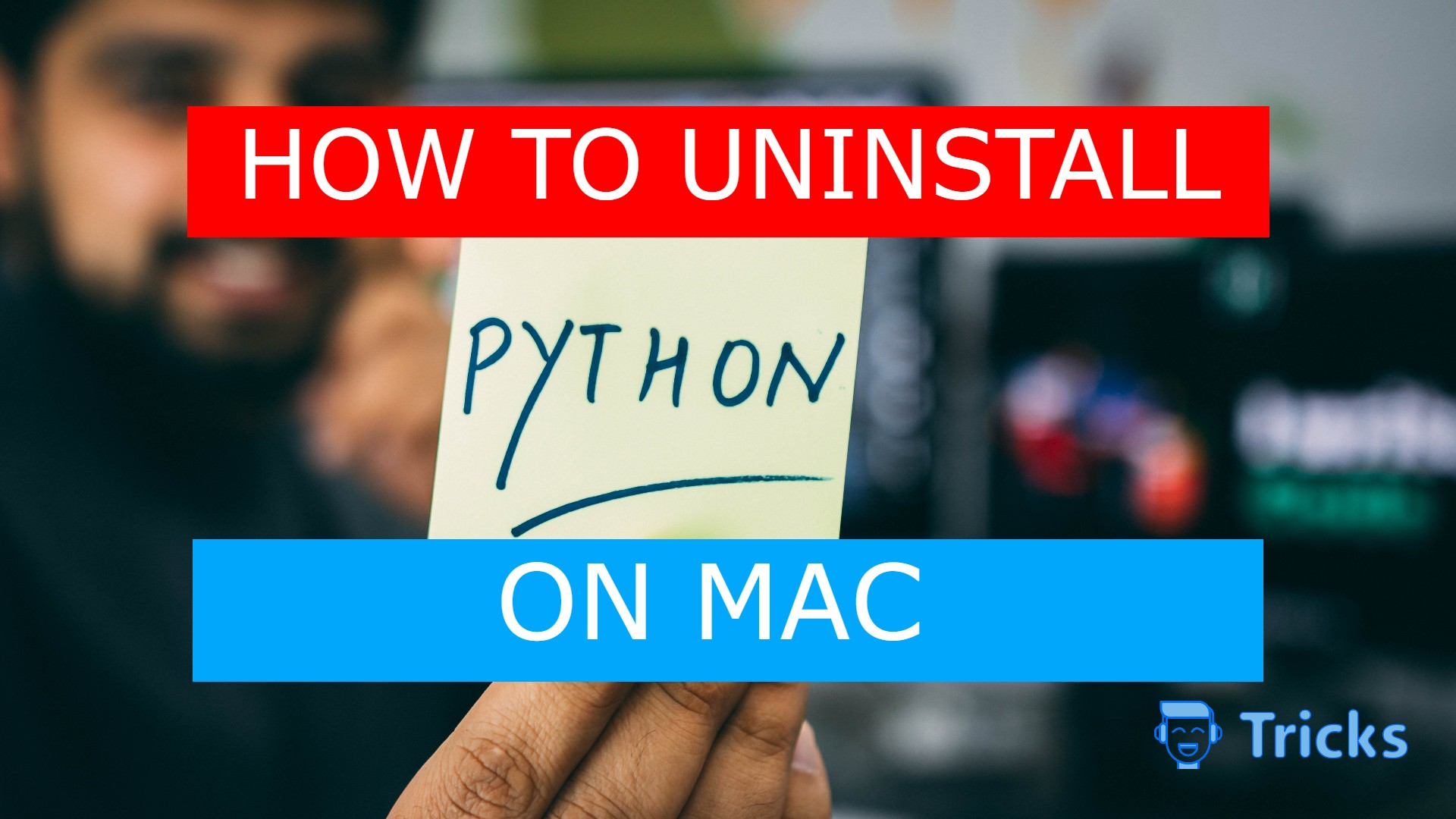 How to uninstall python on mac
